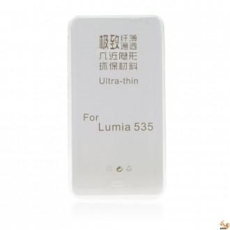 Силиконов калъф за Microsoft Lumia 535 0.3мм прозрачен
