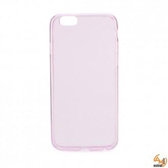 Ултра тънък розов силикон за iPhone 5/5S