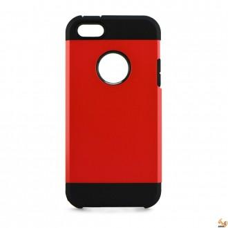 HYBRID силиконов калъф за Samsung Galaxy J1 червен
