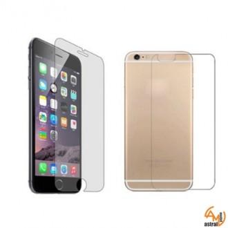 Стъклен протектор за дисплея за iPhone 6/6S предно и задно