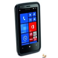 Shocking case за Nokia Lumia 620 черен Cellular line