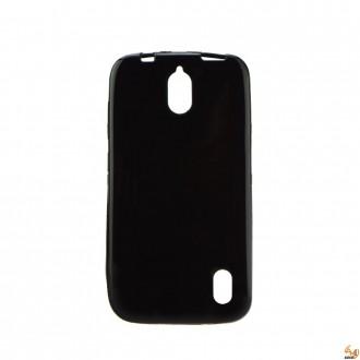 Силиконов калъф за LG K10 0.3мм черен