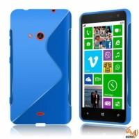 Силиконов калъф  за Nokia Lumia 625 син