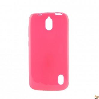 Силиконов калъф за Samsung S7 Edge 0,3 mm. розов