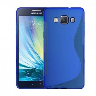 Силиконов калъф за Samsung Galaxy A5 син