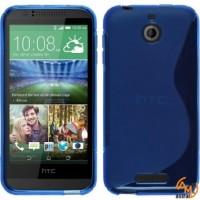 Силиконов калъф за HTC Desire 510 син