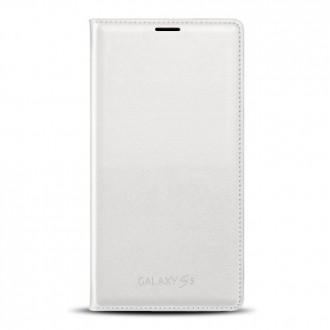 Samsung Flip Case EF-WG900BW for Galaxy S5 white