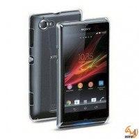 Прозрачен капак за Sony Xperia L Cellular line