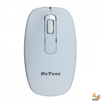 Оптична мишка DeTech 4D Wired