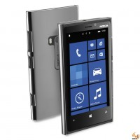 Invisible Nokia Lumia 900  твърд гръб прозрачен Cellular line