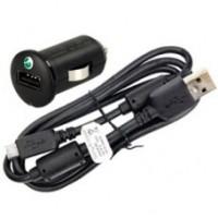 Оригинално зарядно 12v. Sony Ericsson microUSB  AN401