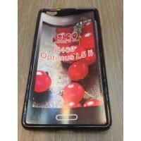 Силиконов калъф за LG L5 2 черен