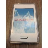 Силиконов калъф за LG L3 2 прозрачен