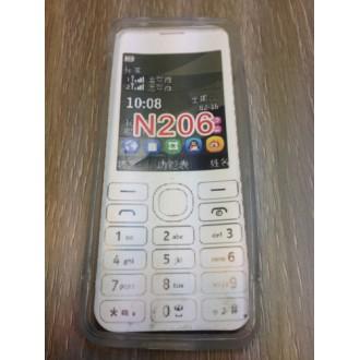 Силиконов калъф за Nokia Asha 206 прозрачен