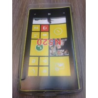 Силиконов калъф за Nokia Lumia 520 прозрачен