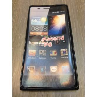 Силиконов калъф за Huawei P6 -черен