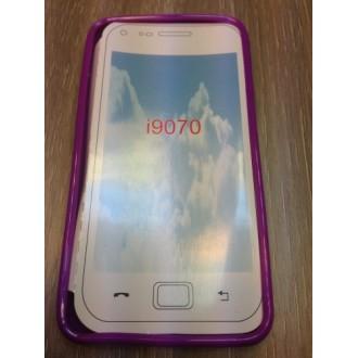 Силиконов калъф Samsung Galaxy Advance i9070 лилав
