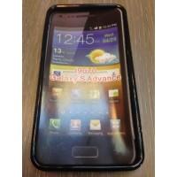 Силиконов калъф Samsung Galaxy Advance i9070 черен