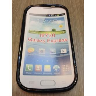 Силиконов калъф Samsung Galaxy Express  i8730 -черен
