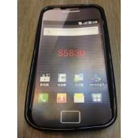 Силиконов калъф за Samsung S5830 Galaxy Ace черен