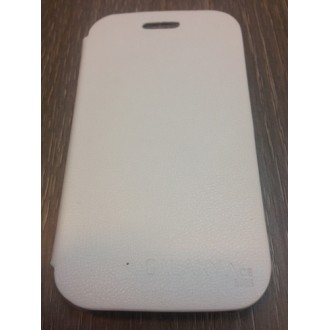 Flip за Samsung S6802 Galaxy Ace Duos бял