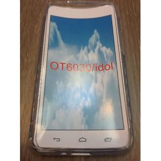 Силиконов калъф за Alcatel 6030 One Idol Touch прозрачен
