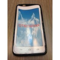 Силиконов калъф за Alcatel 6030 One Idol Touch черен