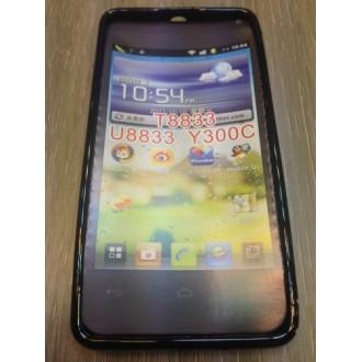 Силиконов калъф за Huawei Y300 -черен