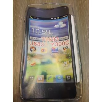 Силиконов калъф за Huawei Y300 -прозрачен
