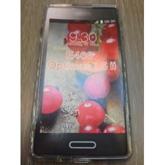 Силиконов калъф за LG L5 2 прозрачен