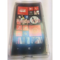 Силиконов калъф  за Nokia Lumia 720 прозрачен
