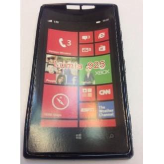 Силиконов калъф  за Nokia Lumia 925 черен