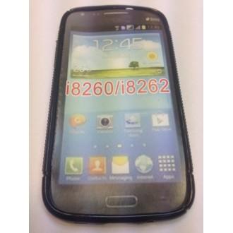 Силиконов калъф за Samsung i8260 Galaxy Core черен