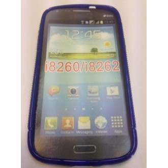 Силиконов калъф за Samsung i8260 Galaxy Core син