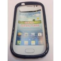 Силиконов калъф за Samsung S6810 Galaxy Fame черен