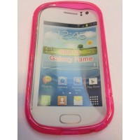Силиконов калъф за Samsung S6810 Galaxy Fame розов