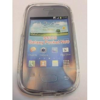 Силиконов калъф за Samsung S5310 Galaxy Pocket Neo прозрачен