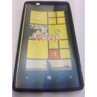 Силиконов калъф за Nokia Lumia 520 черен