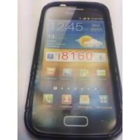Силиконов калъф за Samsung Galaxy Ace 2 I8160 черен
