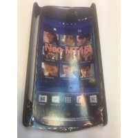 Твърд гръб за  Sony Ericsson Xperia Neo черен