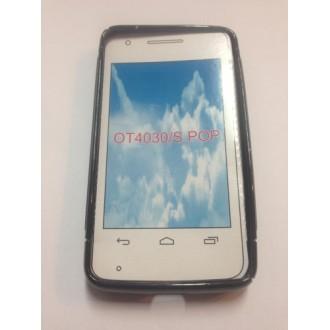 Силиконов калъф за Alcatel 4030 One Touch S  Pop черен