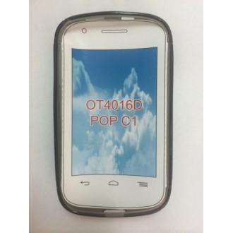 Силиконов калъф за Alcatel OT 4016 Pop C1 черен