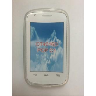 Силиконов калъф за Alcatel OT 4016 Pop C1 прозрачен