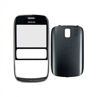Nokia Asha 302 оригинален панел  dark-grey