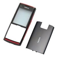 Nokia X2 оригинален панел black-red