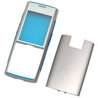 Nokia X2 оригинален панел silver-blue