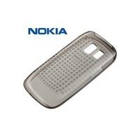 Оригинален калъф за Nokia Asha 302 силиконов CC-1030 черен