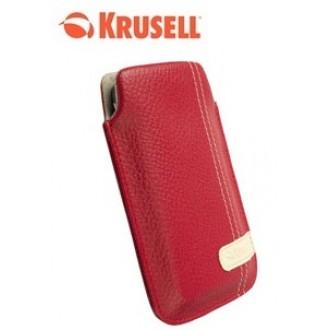 Krusell Gaia Mobile Pouch Size L червен