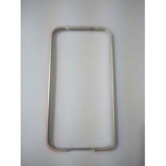 Метален бъмпер  за Samsung Galaxy S5  G900 сребърен