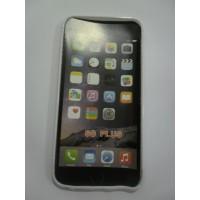 Силиконов калъф за iPhone 6/6S Plus бял